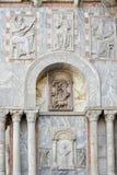 威尼斯, ITALY/EUROPE - 10月12日:圣徒标记部份看法  库存照片