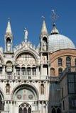 威尼斯, ITALY/EUROPE - 10月12日:圣徒标记部份看法  图库摄影