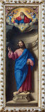 威尼斯-基督救世主Girolamo在教会圣弗朗切斯科della豇豆的di Santacroce (1530 - 1556) 免版税库存照片