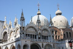 威尼斯 大教堂标记s st 免版税库存图片
