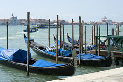威尼斯-对Isola Della Giudecca的视图 库存图片