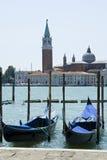 威尼斯-对Isola Della Giudecca的视图 免版税库存图片