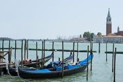 威尼斯-对Isola Della Giudecca的视图 免版税图库摄影