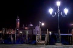 威尼斯(对Isola Della Giudecca)的视图 库存图片