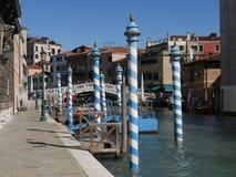 威尼斯-教会圣卢西亚后方  库存图片