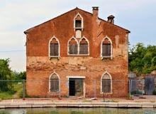 威尼斯水管在盐水湖 免版税图库摄影
