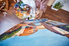 绘画威尼斯 库存照片