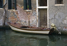 威尼斯死水  库存图片