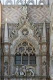威尼斯- Porta della Carta 免版税库存图片