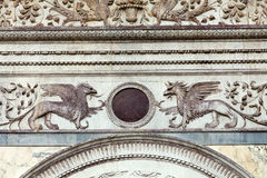 威尼斯- Scuola Grande di圣Marco 免版税库存照片