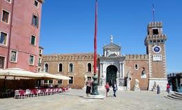 威尼斯Arsenale 免版税库存图片