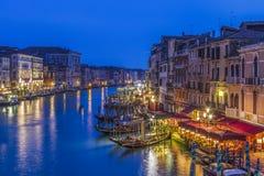 威尼斯Gran运河 免版税库存照片