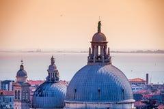 威尼斯roofes 免版税库存图片