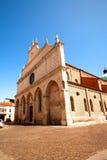 威岑扎(教会大教堂圣玛丽亚Annunciata) 库存照片