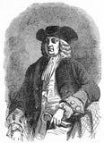 威廉・佩恩,宾夕法尼亚州的创建者 库存例证