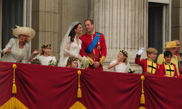 威廉,凯瑟琳Middleton王子 库存图片