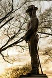威廉Tecumseh谢尔曼纪念碑,美国 图库摄影