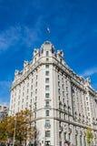 威拉德旅馆华盛顿特区外部建筑学地标Monum 免版税库存图片