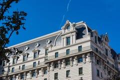 威拉德旅馆华盛顿特区外部建筑学地标Monum 免版税库存照片