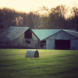 威斯康辛农场 库存图片
