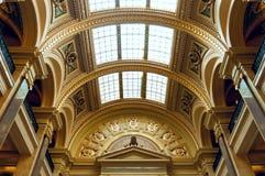 威斯康辛状态国会大厦大厦西部画廊 免版税图库摄影
