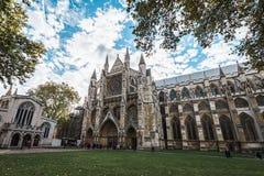 威斯敏斯特修道院在伦敦,英国 免版税库存照片