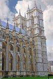 威斯敏斯特修道院在伦敦 库存图片