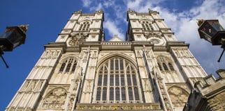 威斯敏斯特修道院在伦敦 库存照片