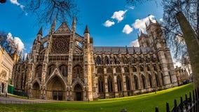 威斯敏斯特修道院在伦敦 免版税库存照片