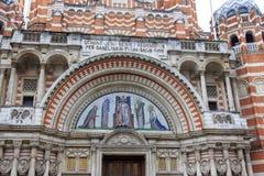 威斯敏斯特大教堂-伦敦 免版税库存照片