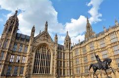 威斯敏斯特宫在伦敦英国英国 库存照片