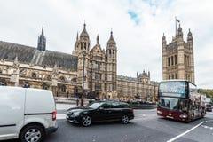 威斯敏斯特宫或英国国会 免版税库存图片
