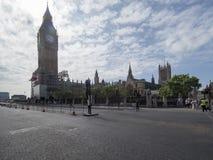 威斯敏斯特宫殿,伦敦 库存照片