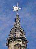威斯敏斯特宫殿建筑学细节 库存图片