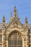 威斯敏斯特宫,细节,伦敦,英国,英国 免版税库存图片
