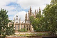 威斯敏斯特宫-英国Parlament 免版税图库摄影
