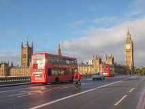 威斯敏斯特桥梁伦敦 免版税图库摄影