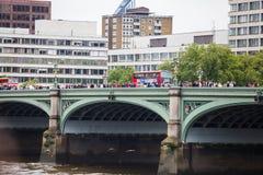 威斯敏斯特桥梁 免版税库存照片