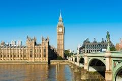 威斯敏斯特,伦敦,联合王国宫殿  免版税库存照片
