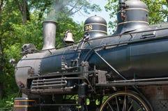 威明顿, DE 6月15日:威明顿和西部铁路是去在旅游的访客的一条遗产火车线 库存图片