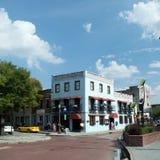 威明顿, NC美国8月 17,2014条河船着陆餐馆 免版税库存照片