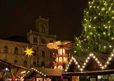 威玛圣诞节市场 免版税图库摄影