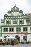 威玛, GERMANY/EUROPE - 9月14日:旅游讯息Offi 免版税库存图片