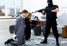 威胁 免版税库存图片