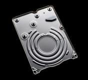 威腾电子500G 2 5英寸膝上型计算机硬盘盖子 库存图片