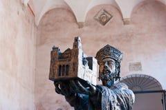 威廉二世-蒙雷阿莱大教堂的创建者 库存图片