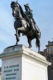 威廉亨利Dufour雕象,日内瓦,瑞士 免版税图库摄影