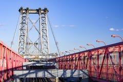 威廉斯堡桥梁在纽约城 免版税图库摄影