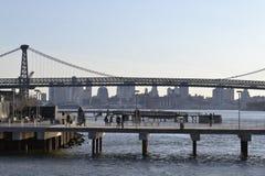 威廉斯堡桥梁 图库摄影
