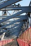威廉斯堡桥梁 库存图片